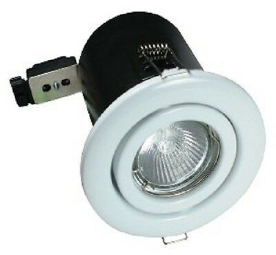 Downlight Fire Rated Aluminium Tilt Low Voltage PACK OF 10