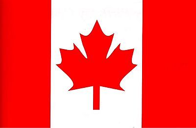 Large Canada Canadian Flag Maple 5 x 3FT Flag Rio Olympics free 1st class del