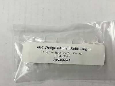 ABC Wedge Extra Small refill Right 24/pack White To restore the difficult class2