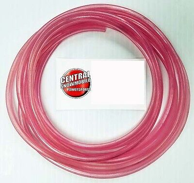 1/8-In ID Pink Primer Fuel Line (10Ft) -  ATV Watercraft Snowmobile Motorcycle