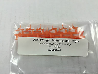 ABC Wedge medium refill Right 24/pack Orange To restore the difficult class2