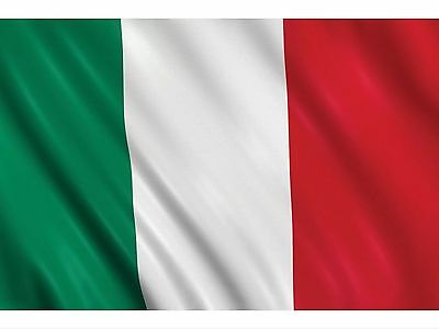 Italy Italia Flag Large Premium 5' x 3'  Rugby 6 Nations free 1st class delivery