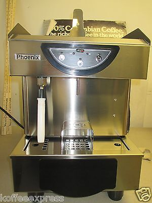 Comobar Or Lavazza Capsules Phoenix  Espresso Cappuccino Machine 1 Group