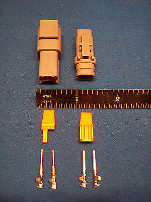 2-Way Deutsch DTM connector kit