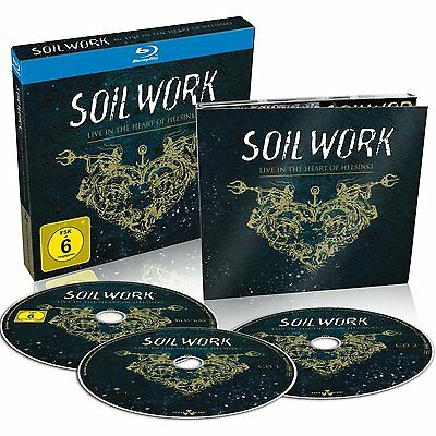 Soilwork Cd - Live In The Heart Of Helsinki [2Cd/1Blu-Ray](2015) - New Unopened