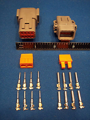 8-Way Deutsch DTM connector kit