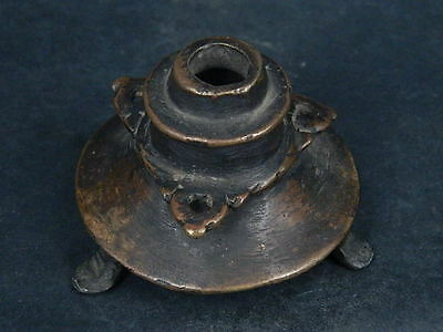 Ancient Bronze Pot Islamic 1400 AD     #S4790