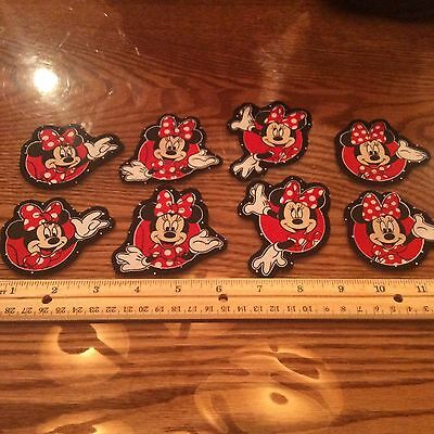 Disney Minnie Mouse Fabric Iron On Appliques - style # 6