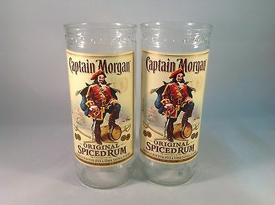 Captain Morgan Tumblers, Set of 2 glasses