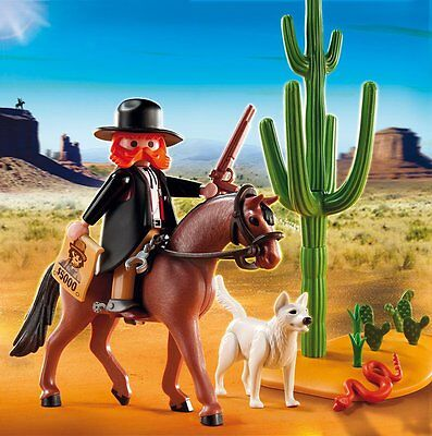 Playmobil 5251 Sheriff with Horse Western Cowboys and Indians