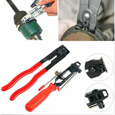 CV Clamp and Joint Boot Clamp Pliers Tool 2 Pcs Set Ear Type Boot Clamp Pliers