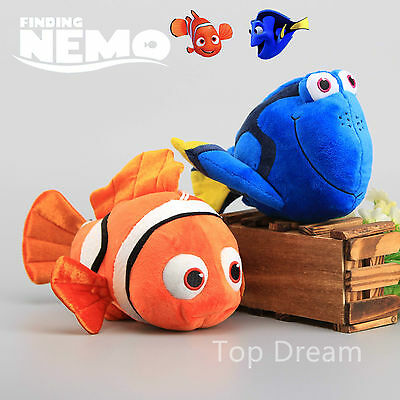 2016 Finding Nemo Characters Nemo Dory Plush Toy Soft Cuddly Doll 10'' Teddy
