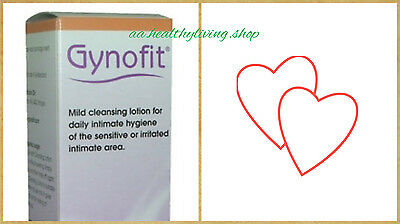GYNOFIT Intimate Cleansing Lotion 200ml Daily Hygiene Lactic Acid Perfume Free
