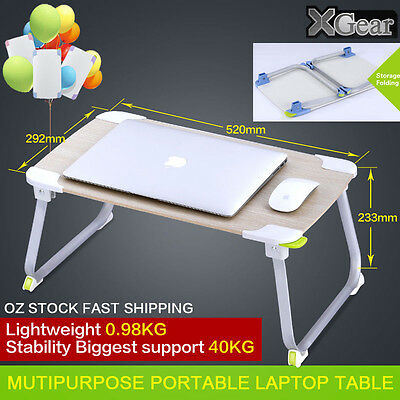 Xgear Ergonomic Portable Foldable Laptop Table Stand/Tray/Desk/Sofa/bed