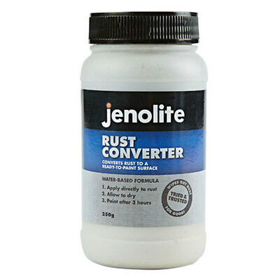Jenolite Rust Converter Treatment Fast Acting 250ml Bottle Water Based