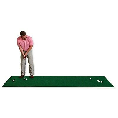 NEW Putting Mat Indoor/Outdoor Practice Stroke Train Movable Putting Cups Roll