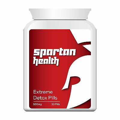 Spartan Health Detox Pills Tablets Cleanse Body Anti-Toxin Purify Lose Fat