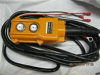 R2, 4 wire Remote Control- for POWER DOWN hydraulic pump 12 or 24 volt