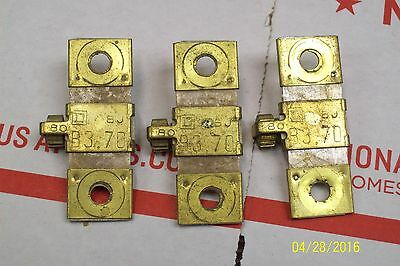 *lot Of 3* B3.70 Square D Overload Relay Heater Element