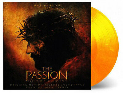 OST / THE PASSION OF THE CHRIST   Limited Orange coloured 180g vinyl LP   SEALED