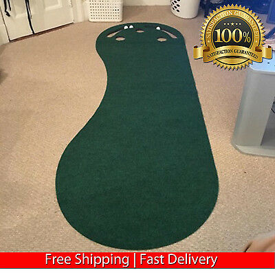 Golf Practice Putting Green Par 3 Indoor Office Master Training Holes Accuracy