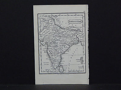 Miniature Map, c. 1850 #13 Hindostan
