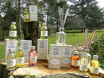 a.C.a HANDMADE Luxury Fragrance Diffuser Oils With 12 Natural 4mm Chunky Reeds