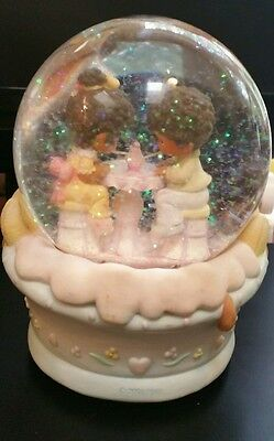 WATER BALL Enesco Precious Moments Music Box In The Good Old Summertime 2001