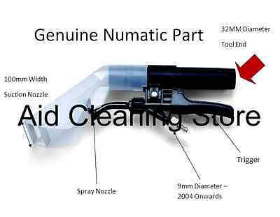 Spray Nozzle 32mm With Trigger Numatic George wet and dry vacuum cleaner 601225