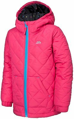 Trespass Sophie Quilted Girls Jacket Insulated