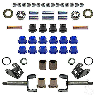 Club Car DS Golf Cart Front End Repair Kit King Pin,Bushing & More 93-Up 6915