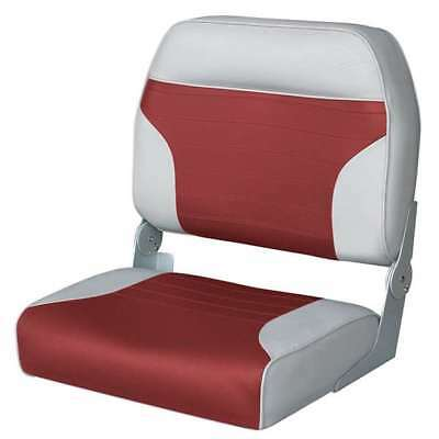 Wise Big Man High Back Boat Seat  Wise Gray-Wise Red
