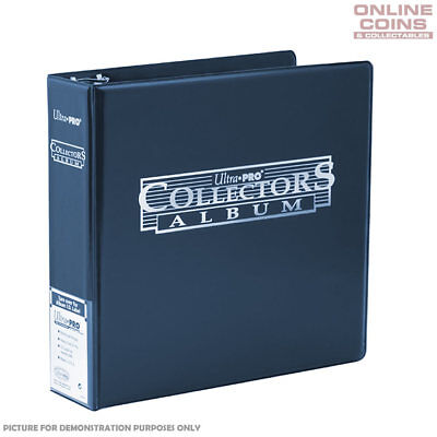 Ultra-Pro 3 Ring Blue Collectors Album for Trading Cards, Coins and Collectibles