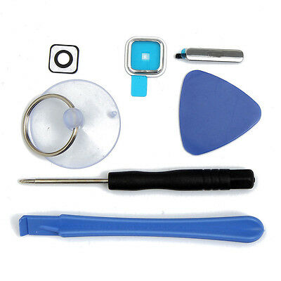 7pcs Tools+Replacement Camera Glass Lens Kits+USB Chager For Samsung Galaxy S5