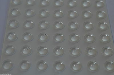 8Mm Buffer Pads Kitchen Door Domed Anti Slam Cabinet Cupboard Protector Stop Dot