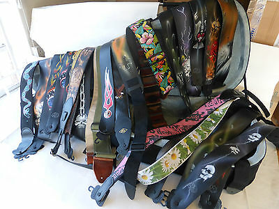 Box lot of LM guitar straps Wholesale price NOW REDUCED!