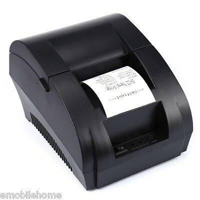 ZJ - 5890K Mini 58mm POS Receipt Thermal Printer with USB Port
