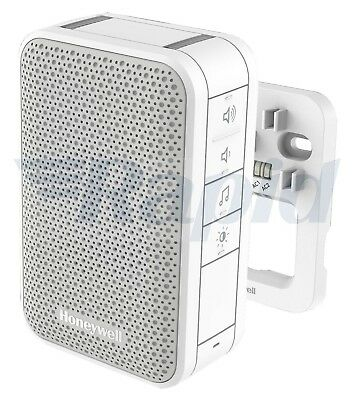 Honeywell DW313S Wired Chime 6 Tunes 84dB LED White Doorbell