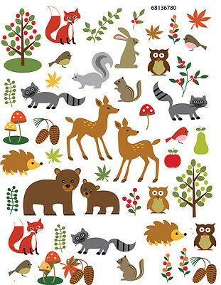 Ceramic Waterslide Decals Forest  68136780  FOOD SAFE LEAD FREE Free  Shipping