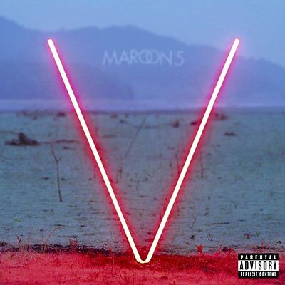 Maroon 5 Cd - V [Explicit](2015) - New Unopened - Rock - Interscope Records