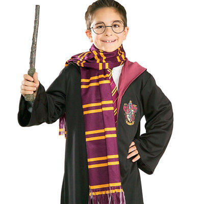 Official Harry Potter Scarf Fancy Dress Costume Accessory Book Week Rubies 9710