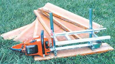 "GRANBERG ALASKAN G776, G781-30  PORTABLE 30"" CHAINSAW SAW MILL SAWMILL Chain saw"
