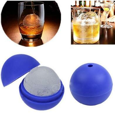 DIY Silicone Wars Death Star Round Ball Ice Cube Mold Tray Desert Sphere Mould B