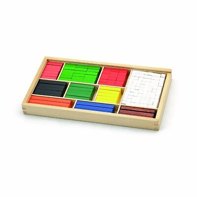 NEW Fun Factory Wooden Cuisenaire Rods 308pcs Educational Maths Aids Counting