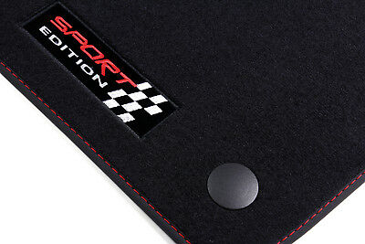 Sport Car Car Mats Compatible with MERCEDES C CLASS W205 Built 2014