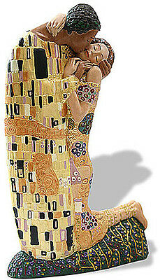 Gustav Klimt THE KISS Licensed Museum Art Sculpture Statue