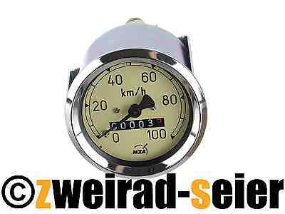 Speedometer Tacho as 2 3/8in - (100 km / H) - MZ RT125/1