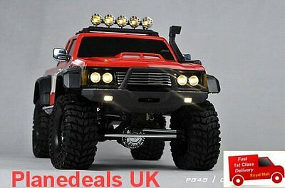 CROSS PG4S OFF ROAD 4WD pickup truck rock crawler 1/10 rc kit 2 speed