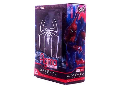 """Max Factory figma 199  The Amazing Spider - Man  5"""" action figure"""