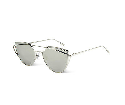 Authentic 2016 Gentle Monster Sliver Mirrored Lens Sunglasses LOVE PUNCH 02(1M)